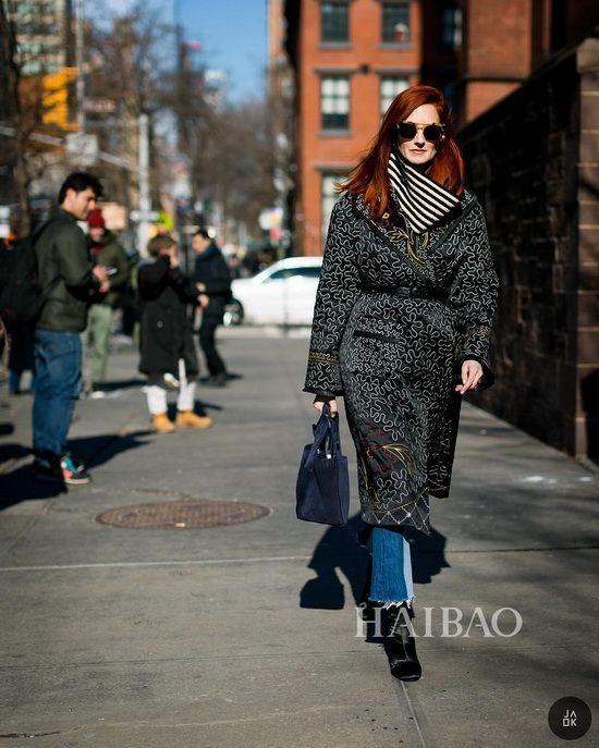 实用时髦两不误 Taylor Tomasi Hill街拍学穿衣